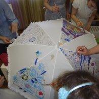 """День в летнем творческом лагере для детей 6-14 лет в Коломягах с клубом """"Веселый ветер"""""""