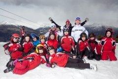 Горнолыжная школа СКА, обучение детей езде на горных в СПб
