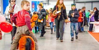 """""""Планета детства"""", выставка в Ленэкспо (СПб) 2013, фото"""
