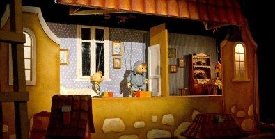 """""""Карлсон, который живет на крыше"""", спектакль для детей от 4 лет в театре Karlsson Haus на Фонтанке, СПб"""