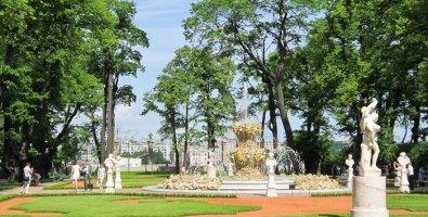 Летний сад в Санкт-Петербурге, фото
