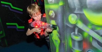 """Лазертаг (кузар, Q-Zar) для детей от 6 лет и взрослых в клубе """"Портал-78"""" на Испытателей, СПб"""