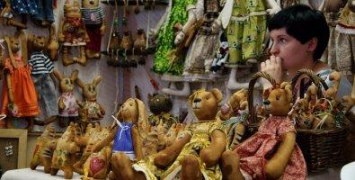 """Фотоотчет: Выставка кукол и мишек Тедди """"Время кукол №7"""" в Санкт-Петербурге"""