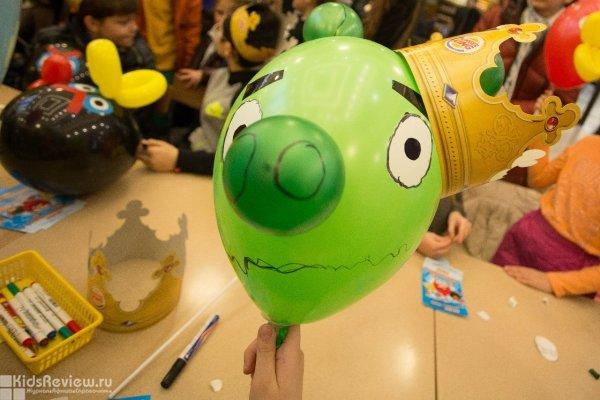 """Бесплатный детский мастер-класс от Angry Birds Activity Park в ТРК """"Лондон Молл"""", СПб"""