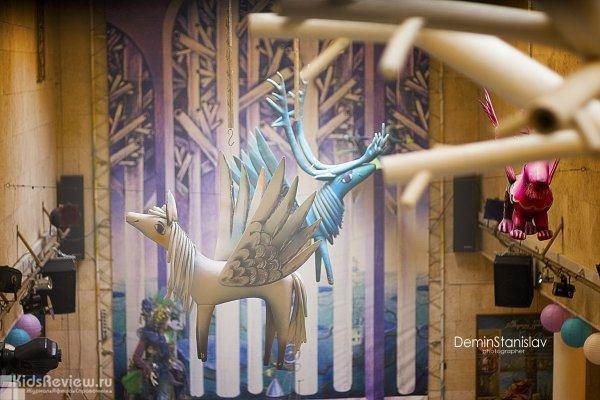 Празднование дня театра в Театре сказки у Московских ворот, Санкт-Петербург