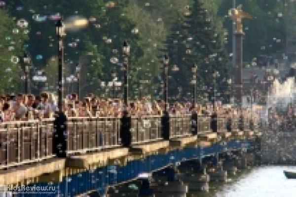 """Фестиваль мыльных пузырей """"Мыльный город"""" в ЦПКиО на Елагином"""