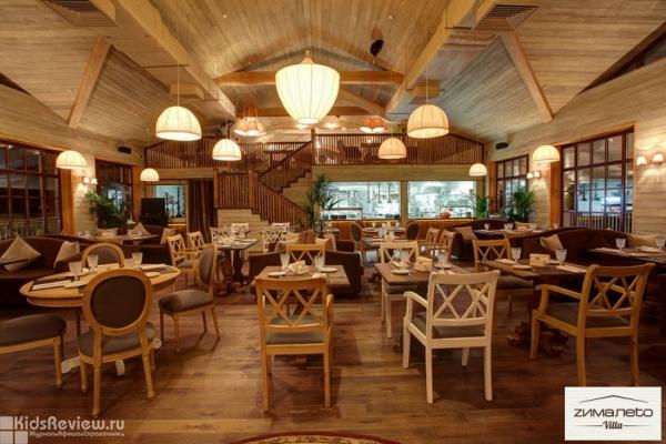 """Villa ZимаЛеto, """"Вилла ЗимаЛето"""", ресторан с детской анимацией на пляже на Крестовском, СПб"""