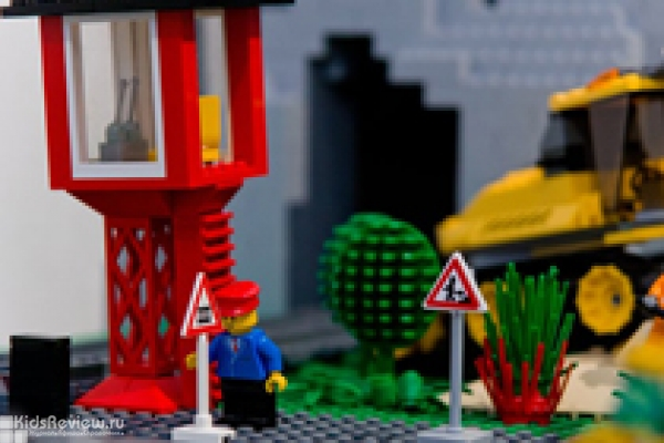 """Лего-конструирование для детей 3-5 лет, мастер-класс в центре """"Гранатик"""" на Чкаловской, СПб"""