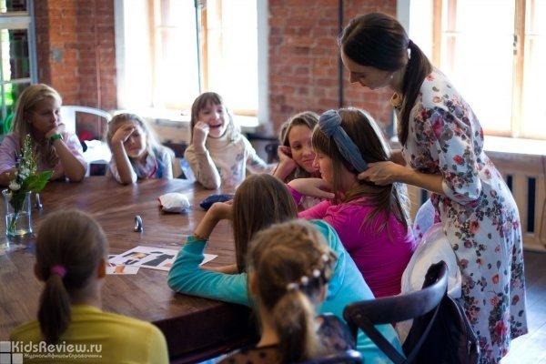 Бесплатный мастер-класс по аксессуарам и прическам для девочек 7-17 лет в ресторане Biblioteka на Невском, СПб