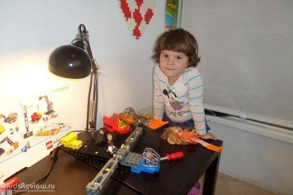 """""""Изобретатели"""", мастер-класс для детей 3-5 лет в центре """"Лего-го"""" на Звездной, СПб"""