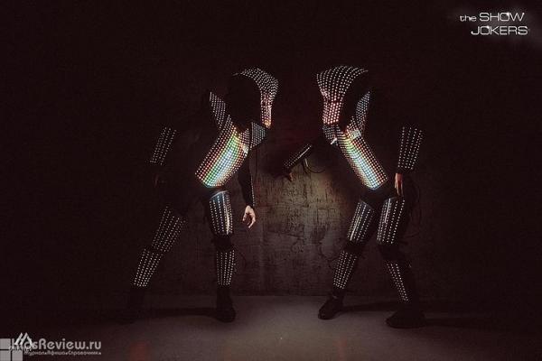 Show Jokers, огненные и световые программы на детский праздник в Санкт-Петербурге