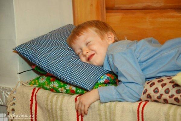 """""""Непослушная подушка"""", детская интерактивная программа для детей от 1 года до 4 лет в музее-театре """"Сказкин Дом"""" на Пионерской, СПб"""