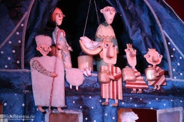 """""""Рождественское чудо"""", спектакль для детей 3-6 лет в клубе """"Дубы колдуны"""", СПб"""