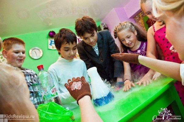 КриоШоу - новогодняя научная программа для детей от 3 до 12 лет в интерактивном театре Be Happy, СПб