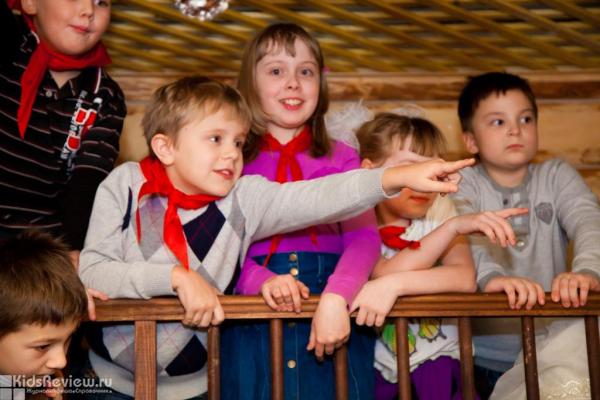 """""""Мы к вам приехали на час"""", новогоднее музыкальное представление для детей от 5 до 8 лет в """"Сказкином Доме"""" на Пионерской, СПб"""