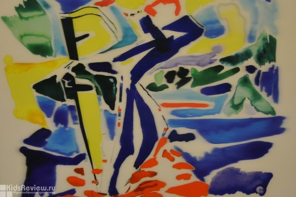 """""""Современные художники мира"""", выставка во Дворце Конгрессов в Стрельне, СПб"""