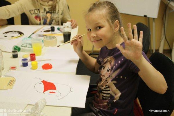 Мастер-класс по росписи футболки для детей от 9 лет в центре Альбины Манзуллиной на Соляном переулке, СПб