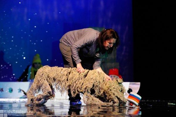 """""""Балтик. Пёс на льдине"""", спектакль Театра городской миниатюры для детей от 6 лет в Интерьерном театре, СПб"""