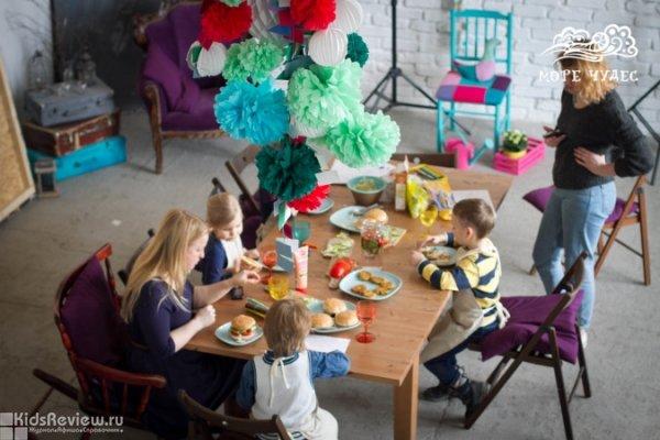 """""""Греция"""", кулинарный мастер-класс для детей от 4 лет в фотостудии MATRЁSHKI на Петроградской, СПб"""