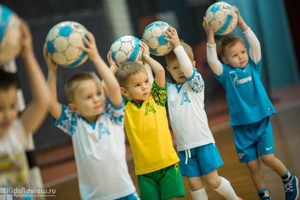 """""""Азбука спорта"""", футбол, гандбол, волейбол, баскетбол, бадминтон, плавание для детей от 3 лет в СПб и Ленобласти"""