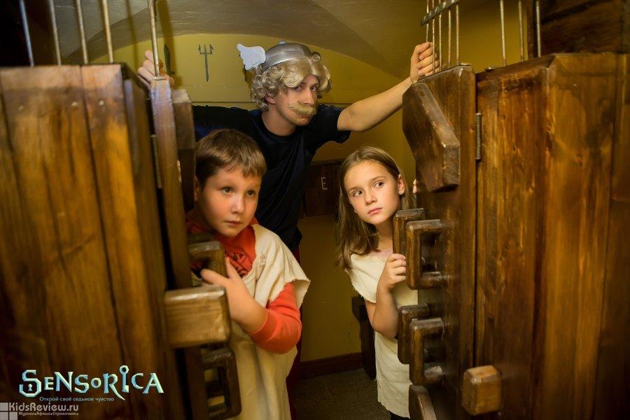 """Sensorica, """"Сенсорика"""", квесты в реальности для детей от 5 лет и взрослых в центре СПб"""