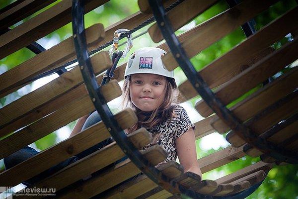"King Kong Park, ""Кинг Конг Парк"", веревочный парк в парке Бабушкина, СПб"