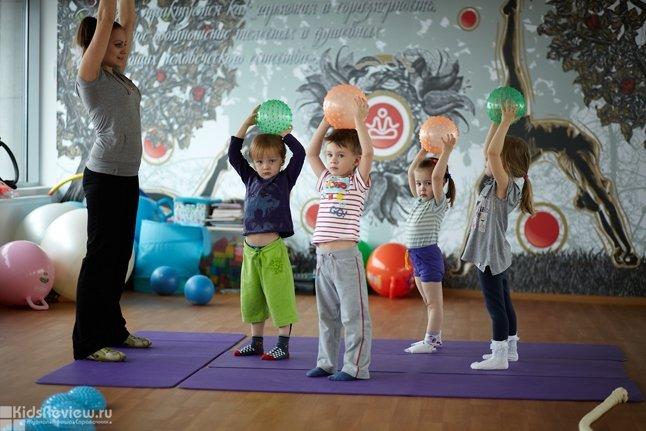 Ньютоша, детский фитнес, Петербург