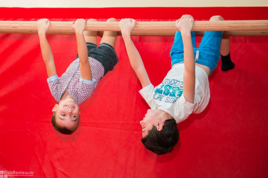 Baby Gym, детский гимнастический центр на Василеостровской, СПб
