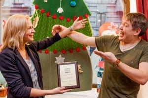 """Kids-friendly Business Award 2013, церемония награждения в кафе-театре """"Белый Кролик"""", Санкт-Петербург, фото"""