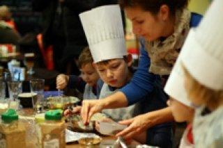Кулинарные мастер-классы для детей от 5 лет в Лавке студии Лебедева