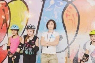 Бесплатный мастер-класс по езде на роликах для детей от 4 лет в Санкт-Петербурге