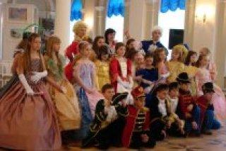 Костюмированный бал для 4-ых классов в Шереметевском дворце, СПб