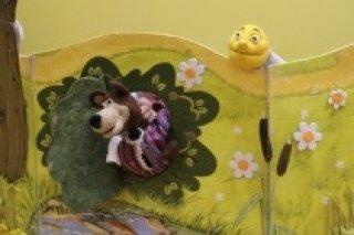 """""""Колобок"""", интерактивный спектакль для детей от 1 до 4 лет в центре """"Крошка Ру"""" в Калининском районе, СПб"""