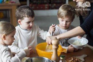 """""""Швеция"""", кулинарный мастер-класс для детей от 4 лет в фотостудии MATRЁSHKI на Петроградской, СПб"""