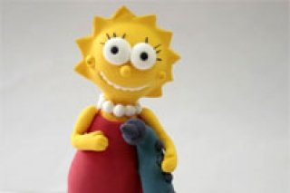 Симпсоны из полимерной глины, занятия по лепке для детей с 7 лет в студии JumpingClay на Комендантском, СПб