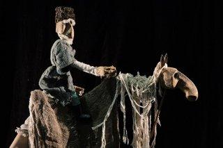"""""""Старик и Волчица"""", спектакль для детей от 6 лет в театре Karlsson Haus на Фонтанке, СПб"""