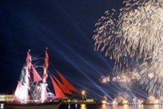 Алые паруса 2012 - концерт для выпускников на Дворцовой