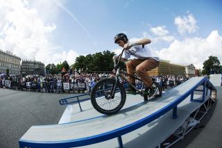 Piter Street Games 2015, фестиваль экстремальных видов спорта и уличных субкультур на Дворцовой площади, СПб
