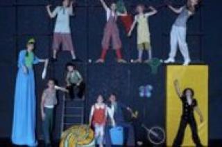 Представление Упсала-Цирка и Cirque Toameme