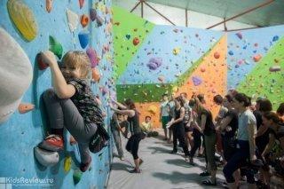 Открытые уроки по скалолазанию и прыжкам на батуте в Rock Town на Лесной, СПб