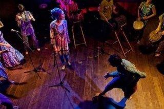 """""""Африканские барабаны"""", музыкальный концерт для детей от 2 лет в центре """"Каштан"""" на Рубинштейна, СПб"""