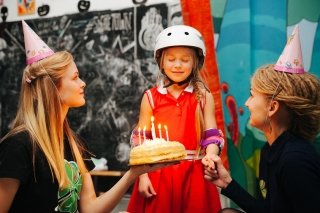День рождения на роликах в Skate Town, СПб