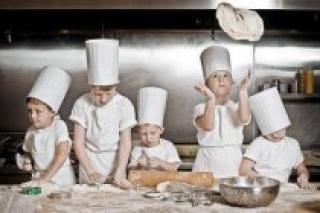 Как научиться делать пиццу, мастер-класс для детей в Сafe Family, Петербург