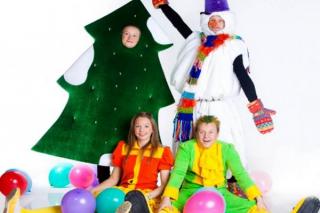 """Новогодний праздник для детей от 4 до 10 лет в ресторане """"Кастом"""", СПб"""