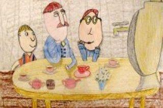 """Волшебное новогоднее чаепитие, мастер-класс по созданию мультфильма в школе-студии """"Да"""" в Центральном районе СПб"""