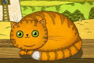 """""""Кот в Сапогах"""", детская книга для планшета для детей 3-6 лет, приложение для iPad"""