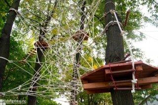 Активный отдых с детьми на свежем воздухе: веревочные парки в СПб и за городом