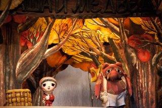 """""""Маша и Медведь"""", спектакль для детей от 4 лет в Кукольном театре сказки, СПб"""